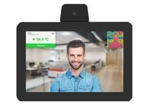 Contactless Reception Tablet